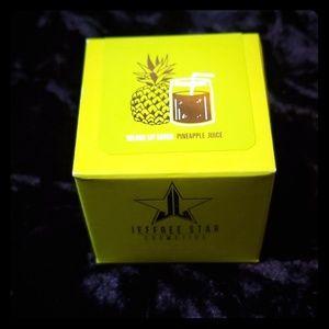 New pineapple juice lip scrub jeffree star